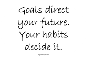 Habits over Goals